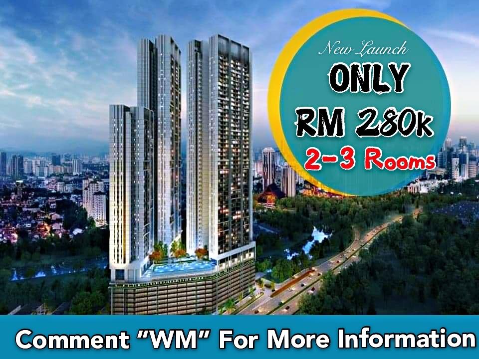 For Sale - Wangsa Maju RM280K Condo Free MOT