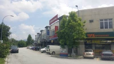 For Sale - Bangi Bukit Mahkota, 2 Storey Shop RM756K
