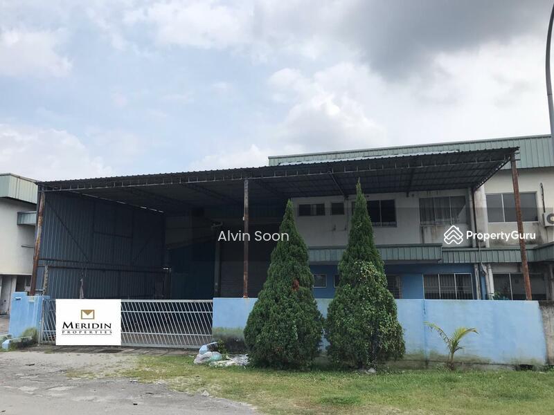 Silibin Jelapang Semi D Factory For Rent Ipoh Perak #153682284