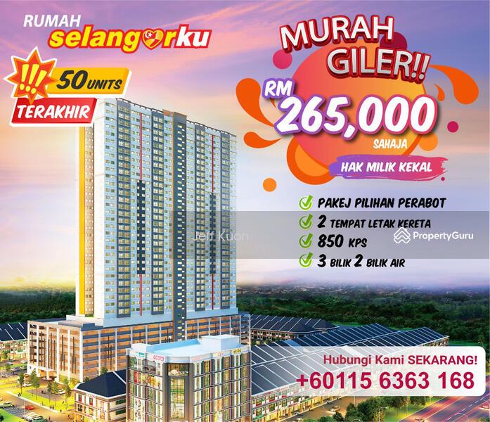 Rumah Selangorku Dengkil Bangi Selangor 3 Bedrooms 850 Sqft Apartments Condos Service Residences For Sale By Jeff Kuon Rm 265 000 31890006