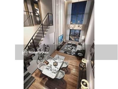 For Sale - 【DUPLEX BESIDE MRT】TAMAN MIDAH 3R2B 80% RENO FURNISHED 0% DOWNPAYMENT 【FULL LOAN】Cash Back 20K