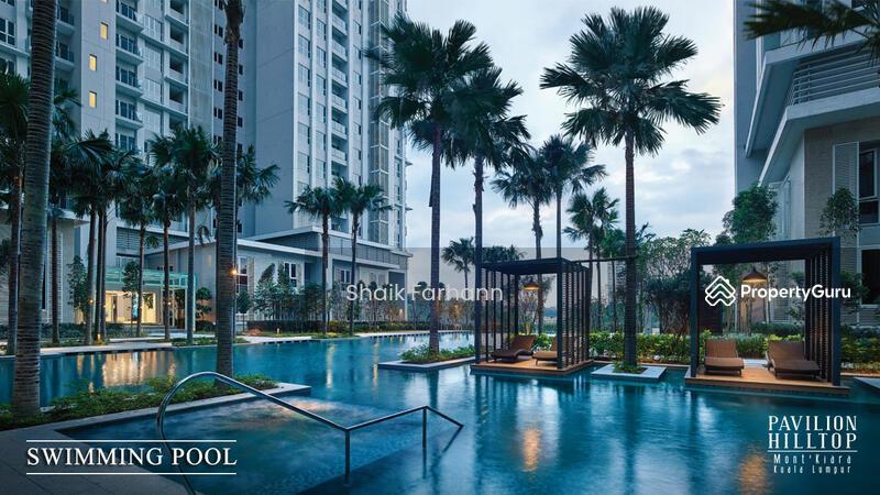 Pavilion Hilltop Mont Kiara Duplex 6 Room 3 parks Resort Concept Pool View #154701336