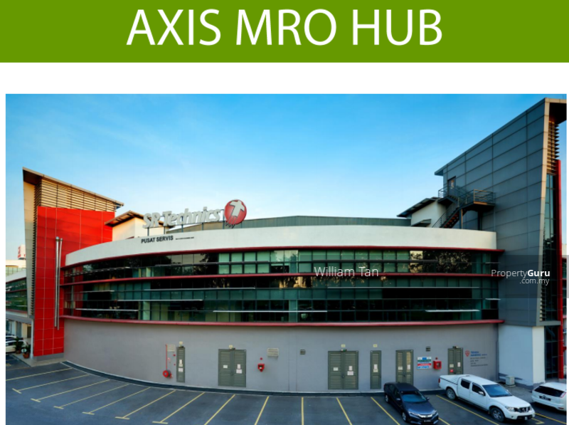 AXIS MRO Section 15 Shah Alam Factory 1675 sqft for rent at RM4355 #155109498