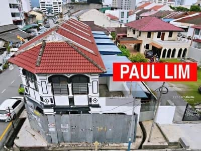 For Sale - SHOP LOT AT LORONG SERATUS TAHUN HERITAGE HOUSE
