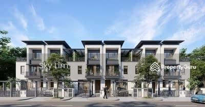 For Sale - Ampang melawati new 3sty Luxury Superlink House 20x70 0%dp 5R5B kl