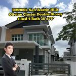 Seri Austin Olivine Cluster Near Eco Summer Setia Indah Dato Onn Adda Heights