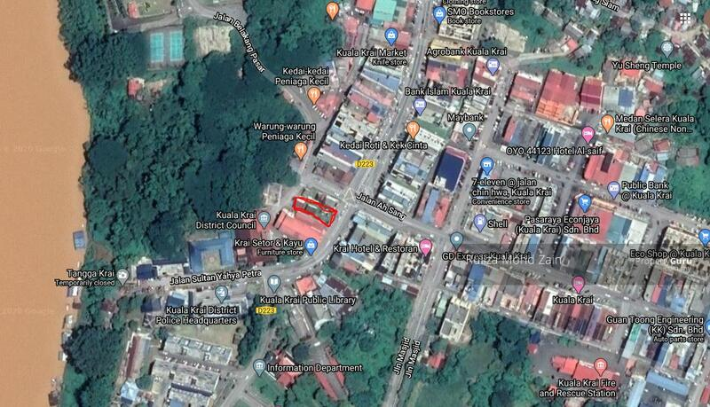 Commercial Land Bandar Kuala Krai Kelantan #156278756