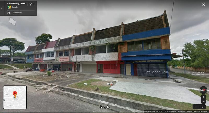Shop Office Pasir Gudang Taman Air Abu Johor Bahru #156279684