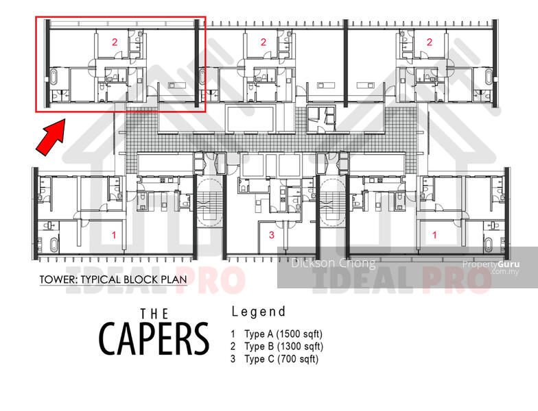 The Capers Jalan Lima Sentul Kuala Lumpur 4 Bedrooms 1381 Sqft Apartments Condos Service Residences For Sale By Dickson Chong Rm 648 000 32113336