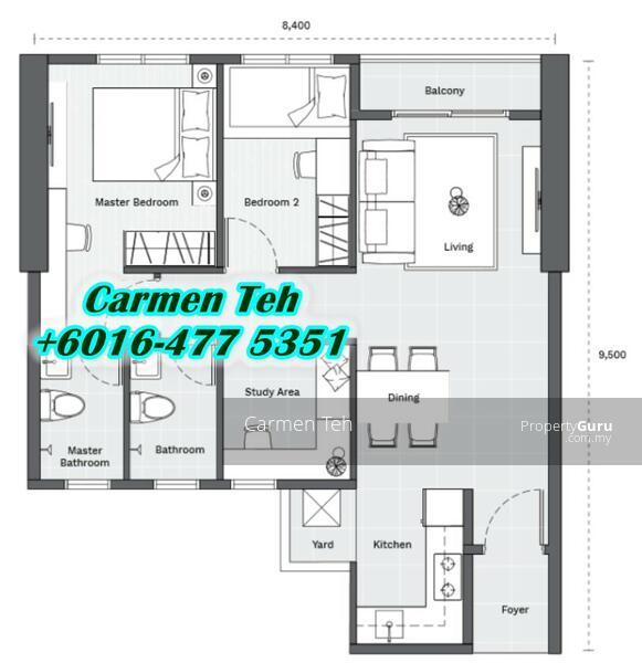 Vivo Executive Apartment Batu Kawan #156799338