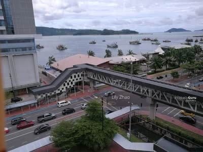 For Rent - Marina Court Condo   SEA VIEW   Corner   Fully Furnished   KK City
