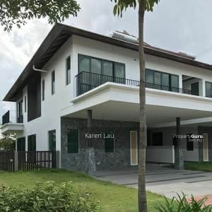 For Sale - [Rumah Mcm Semi D! !] 24x75 Luxury 2-Sty Superlink Freehold Nr Shah Alam Subang