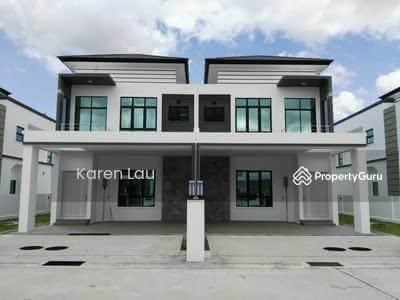 For Sale - [Freehold Mampu Milik! !] 22x80 2 Tingkat Rumah Teres 0% D/P Nr Shah Alam Subang