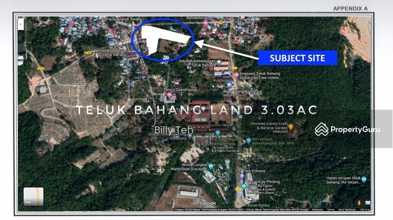 Teluk Bahang Residential Land Main Road #157476010