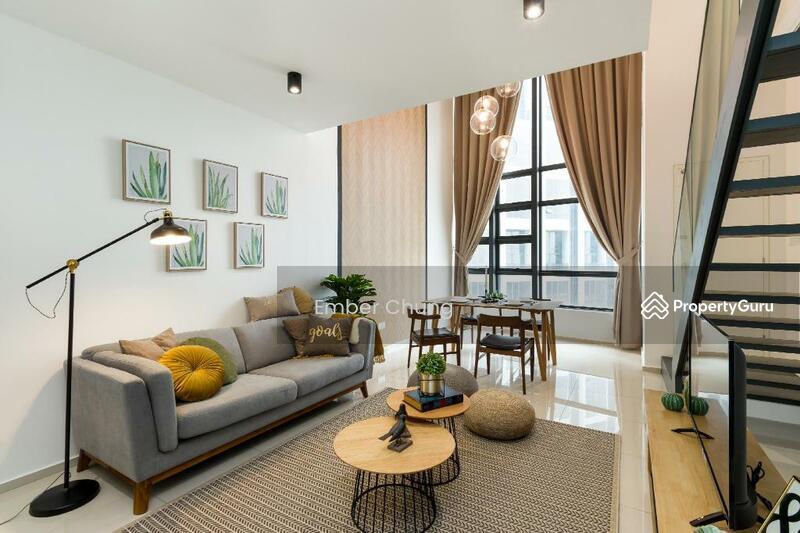 Designer Duplex | 80% Furnished + Reno | 3 Rooms 2 Bathroom | Next to MRT & Mall #157584226