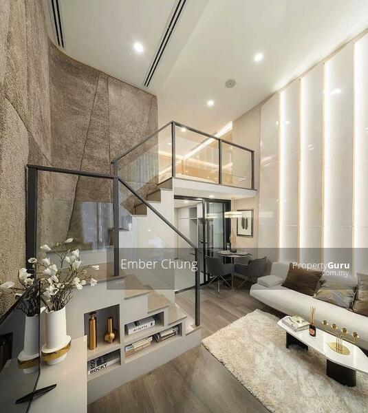 Designer Duplex   80% Furnished + Reno   3 Rooms 2 Bathroom   Next to MRT & Mall #157584314