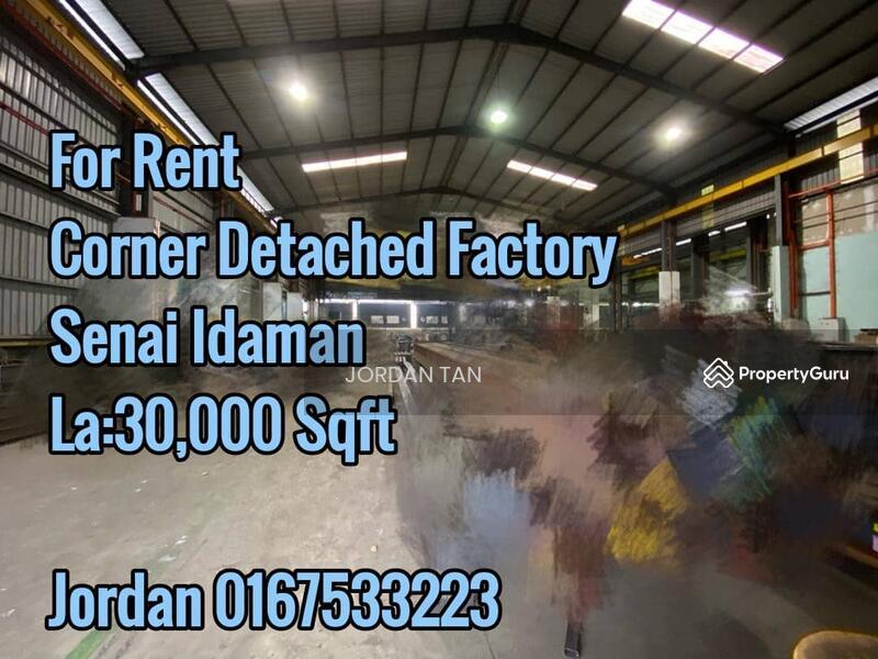 Senai Idaman industrial @ Corner Detached Factory For Rent #157831004