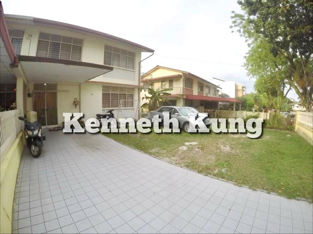 Dijual - Jalan Tembaga Greenlane Jelutong 2 Storey Semi D