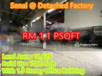 For Rent - Kawasan Perindustrian Senai Idaman @ Detached Factory For Rent