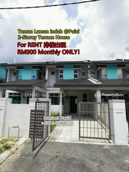 Taman Laman Indah 2-Storey Terrace House @Pulai #158800320