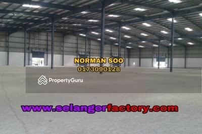 Dijual - 2000 Amp Multiple Loading Bay Warehouse in West Port, Port Klang, Klang Selangor