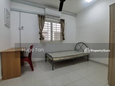 Disewa - Aircond Single Room [Fully Furnished] 100Mbps WiFi Setia Alam Topglove
