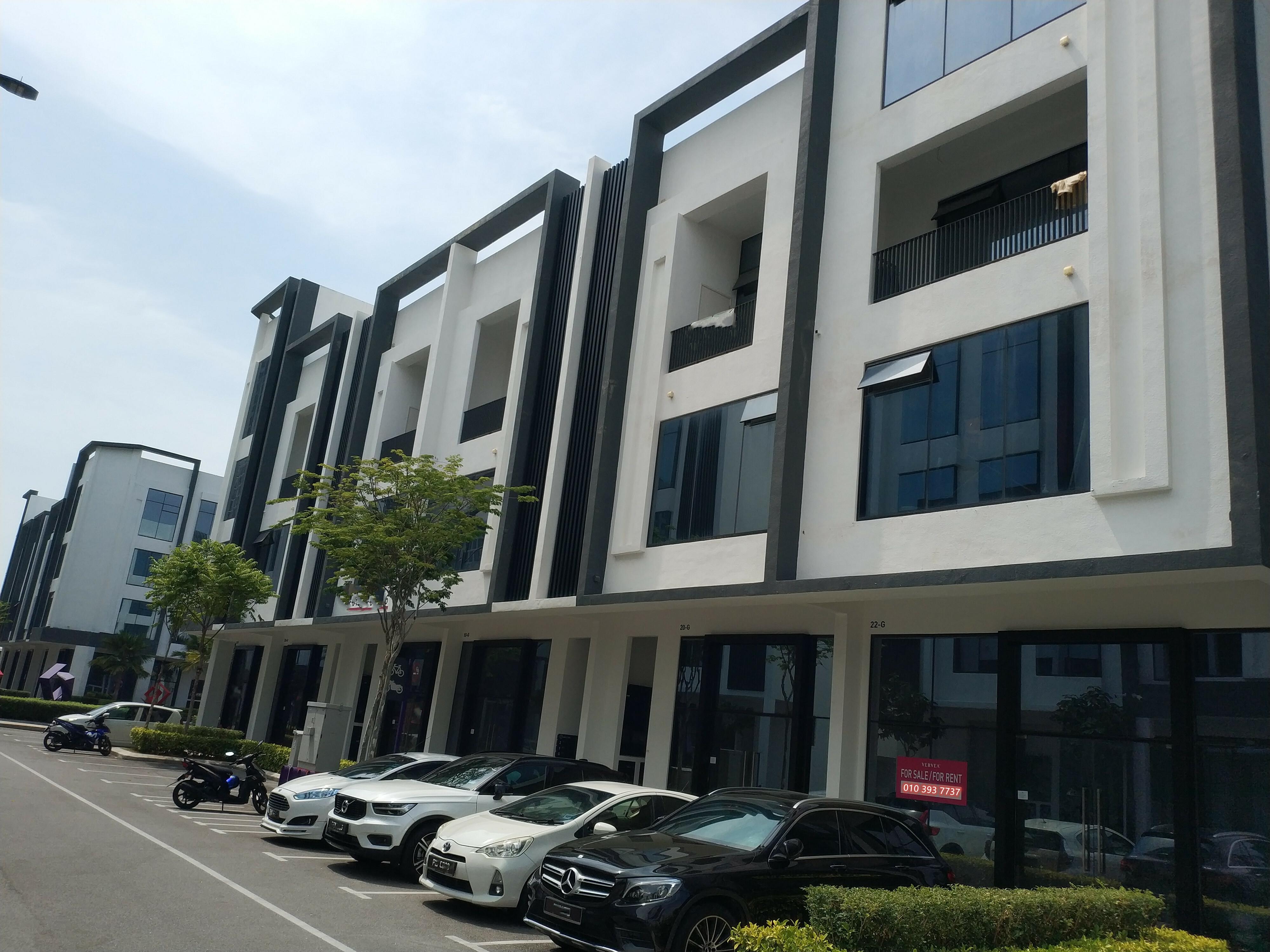 For Sale - Vervea | Aspen Vision City | 3 Storey Shop | Batu Kawan Simpang Ampat