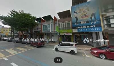 Dijual - 2 Storey Shop Lot Main Road Taman Melaka Raya Bandar Hilir For Sale