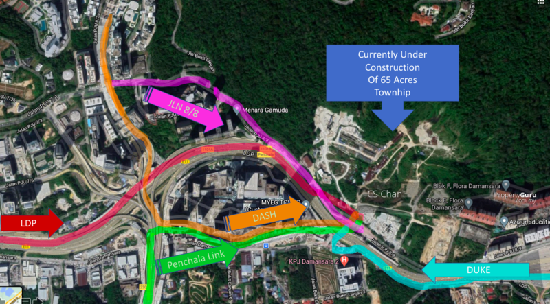This Map shows clearly the exact location of the project