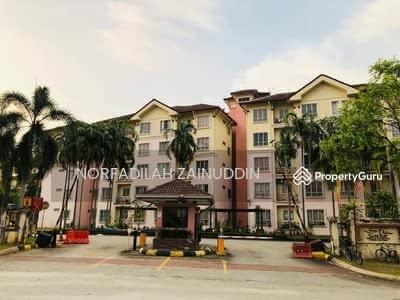 For Sale - MURAH, ADA LIFT Apartment Delima Bukit Jelutong U8 SHAH ALAM