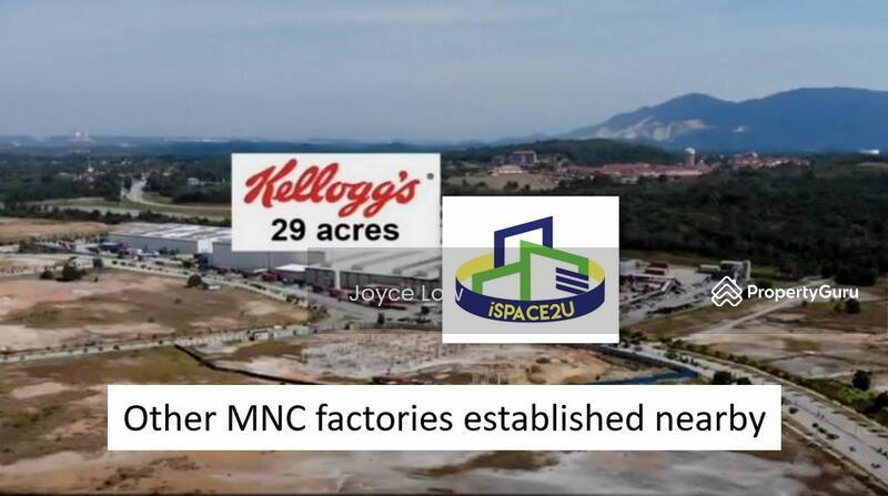 Semi Detached Factory for Sale at Bandar Enstek #160587304