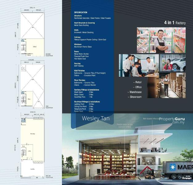 Ayer Keroh Brand New 2.5 Terrace Factory 4000 sf For Sale #160714542