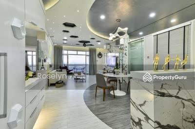 For Sale - 【3R3B 1200sqft】RM5xxK Semi-D Concept Layout , 0% Downpayment , Pure Residential KLCC VIEW