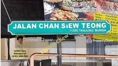 Dijual - Jalan Chan Siew Teong