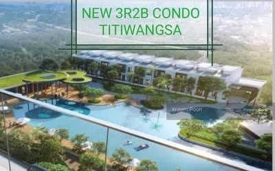 For Sale - New Lakeview Condo 3R2B , (7km to KLCC) Titiwangsa