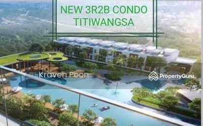 For Sale - New Lakeview Condo 3R2B , Titiwangsa KLCC