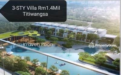 For Sale - NEW 3 STY / 4 STY HOUSE IN TITIWANGSA