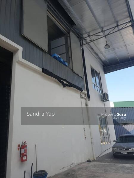 IKS Juru Semi-Detached Factory With Extension Done #161190742
