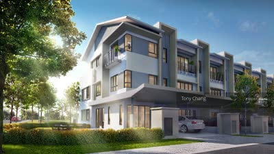 For Sale - Cheras New Completed landed, 2 Storey Superlink at Damai Perdana, Alam Damai