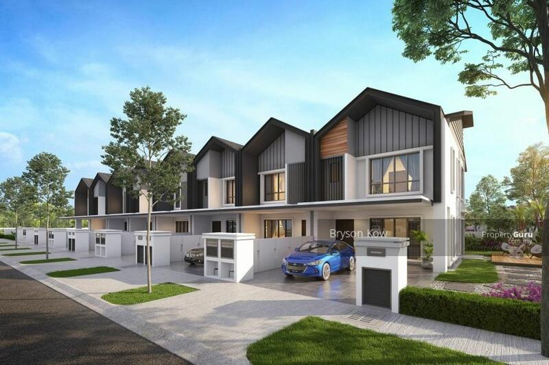 [ Premium Landed House Limited Unit & Next To KD ] 22x70 Hillside Lake View Link-House #161528458
