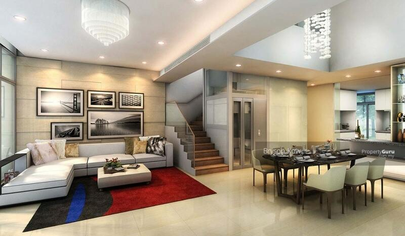 [ Premium Landed House Limited Unit & Next To KD ] 22x70 Hillside Lake View Link-House #161528516