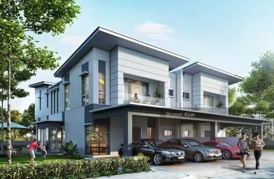 For Sale - [ Semi-D Landed House ] 35x70 Greenery Environment With Water Theme Park