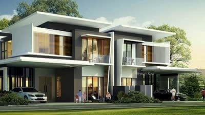 For Sale - [ New Semi-D Landed House & Theme Park ] 35x70 Greenery Environment