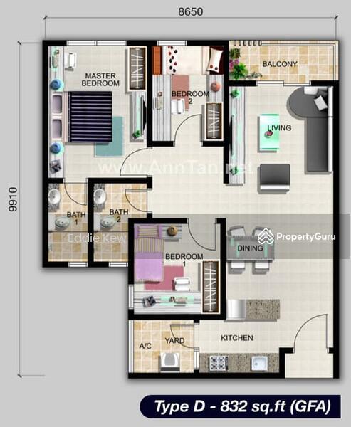 Sky Residence @ Shamelin, Cheras #161581398