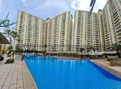 For Sale - FOR SALE: ZERO DOWNPAYMENT - Condo 4 rooms, PV 12 Setapak Kuala Lumpur - Full Loan