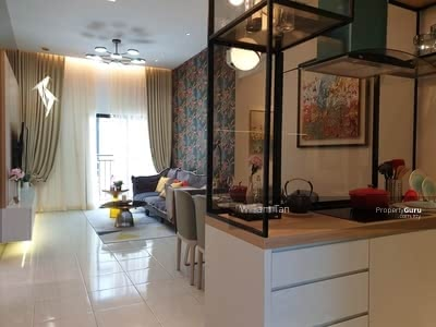 For Sale - Ultra low density 250 units Cheras Freehold 99% loan 3 room condo New Launch
