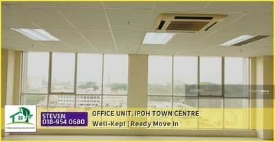 For Rent - (For Rent) Office Lot @ Ipoh Town Centre