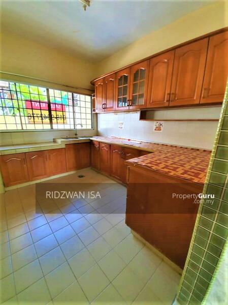 Kitchen Area with built-in cabinet. Windows Facing outside. By RIDZWAN REN 48852