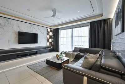 For Sale - Ampang [1178sqft+ Partial Furnished] 3R2B Hilltop Condo! !