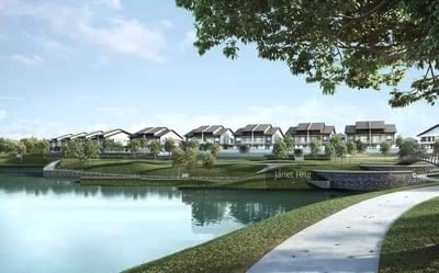 For Sale - Kota Kemuning Early Bird Lakefront Villa Bungalow RM1. 5mil Only